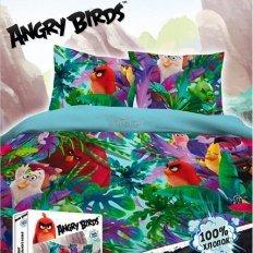 Детское постельное белье Angry Birds Тропики (бязь-люкс)