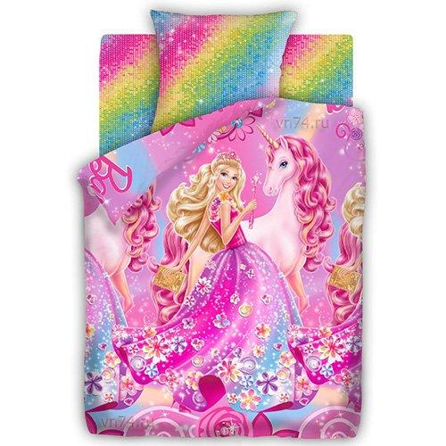 Детское постельное белье Барби Принцесса Алекса (бязь-люкс)