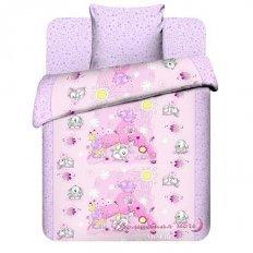 Детское постельное белье Бэби Плюшевые зайки (бязь-люкс)
