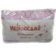 Детская подушка 40 x 60 Непоседа силикон волокно (бязь)