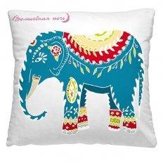 Подушка декоративная 40 x 40 Индийский слон