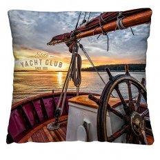 Подушка декоративная 40 x 40 Яхта