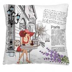 Подушка декоративная 40 x 40 Кафе в Париже
