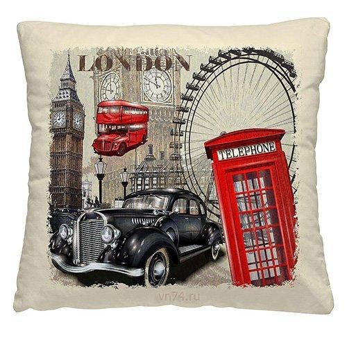 Подушка декоративная 40 x 40 Лондон