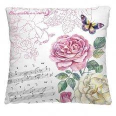 Подушка декоративная 40 x 40 Ноты