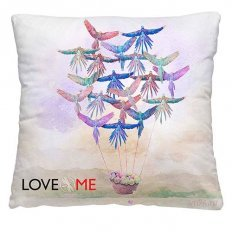 Подушка декоративная 40 x 40 Попугаи