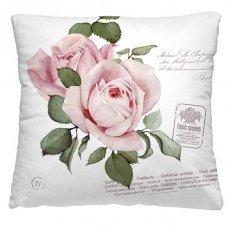 Подушка декоративная 40 x 40 Розовый бутон