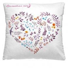 Подушка декоративная 40 x 40 Сердце