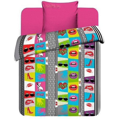 Детское постельное белье Поп-арт (бязь-люкс)