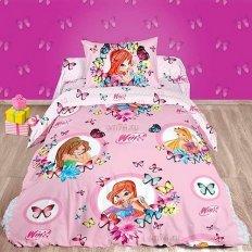 Детское постельное белье Winx Бабочки (поплин)