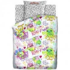 Детское постельное белье Angry Birds Плохие свинки (бязь-люкс)