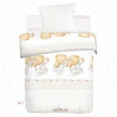 Детское постельное белье Близнецы (поплин)