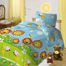 Детское постельное белье Пчелки 2 (бязь-люкс)