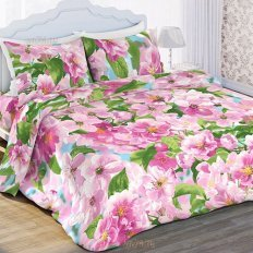 Постельное белье Любимый дом Ароматная весна (бязь-гост)