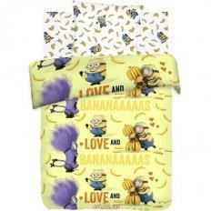 Детское постельное белье Миньоны Бананас (бязь-люкс)