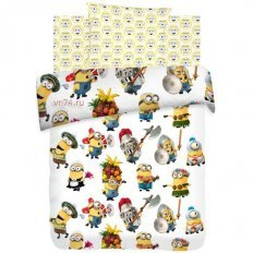 Детское постельное белье Миньоны Вечеринка (бязь-люкс)