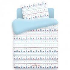Детское постельное белье Кораблики (бязь-люкс)