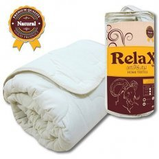 Одеяло овечья шерсть RELAX Wool Lights облегченное