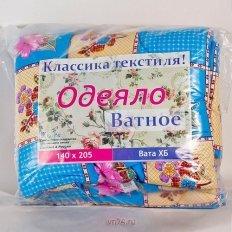 Одеяло ватное Классика текстиля (классическое)