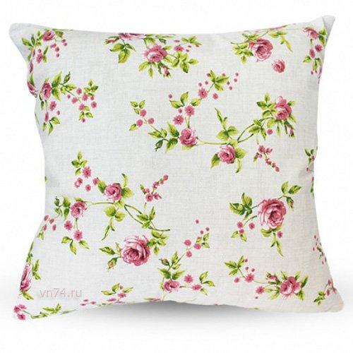 Подушка декоративная 40 x 40 Романтика Английский сад