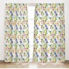 Комплект штор Солнечный дом Цветущий сад (2 предмета)