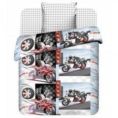 Детское постельное белье Мотокросс (бязь-люкс)