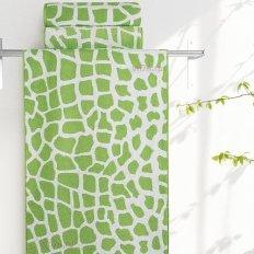 Полотенце махровое Aquarelle Мадагаскар жираф травяной