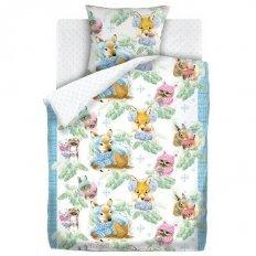 Детское постельное белье Непоседа Зимние зверята (бязь-люкс)