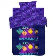 Детское постельное белье Emoji movie Вечеринка (бязь-люкс)