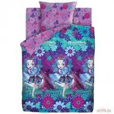 Детское постельное белье Enchantimals Пеппер Павлина и Флэп (бязь-люкс)