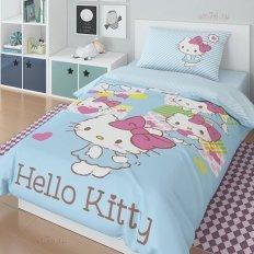 Детское постельное белье Хелло Китти 20045 (поплин)