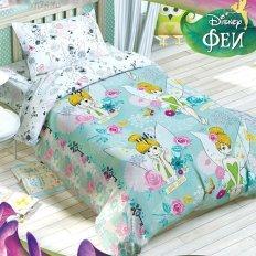 Детское постельное белье Disney Феи Динь-Динь (бязь-люкс)