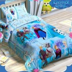 Детское постельное белье Disney Холодное сердце (бязь-люкс)