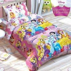 Детское постельное белье Disney Принцессы (бязь-люкс)