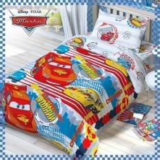 Детское постельное белье Disney Тачки Супер гонки (бязь-люкс)