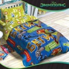 Детское постельное белье Disney Зверополис (бязь-люкс)