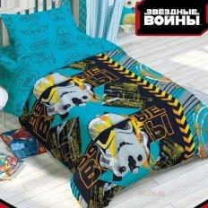 Детское постельное белье Disney Звездные войны (бязь-люкс)