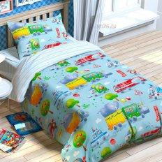 Детское постельное белье Jetelka Город (бязь-люкс)