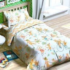 Детское постельное белье Jetelka Озорная семейка (бязь-люкс)
