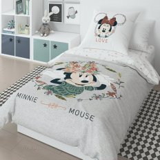 Детское постельное белье Минни вид 7 (поплин)