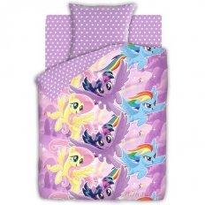 Детское постельное белье My Little Pony Небесные пони (бязь-люкс)