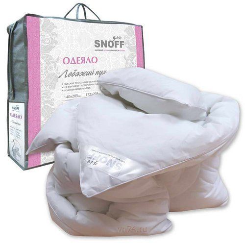 Одеяло ПП лебяжий пух для Snoff облегченное