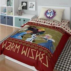 Детское постельное белье Холодное сердце Олаф 20034 (поплин)