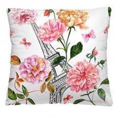 Подушка декоративная 40 x 40 Эйфелева башня