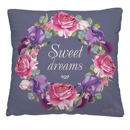 Подушка декоративная 40 x 40 Сладких снов
