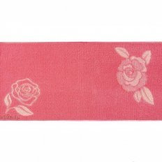 Полотенце махровое Aquarelle Роза коралл роз.персиковый