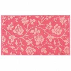 Полотенце махровое Aquarelle Роза вид 2 коралл роз.персиковый