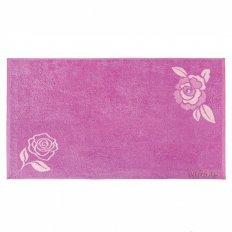 Полотенце махровое Aquarelle Роза орхидея нежнорозовый