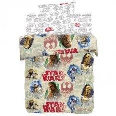 Детское постельное белье Star Wars Чубакка и Дроиды (поплин)