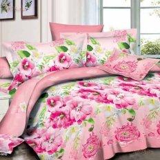 Постельное белье Satin collection Розовое цветение (микросатин)